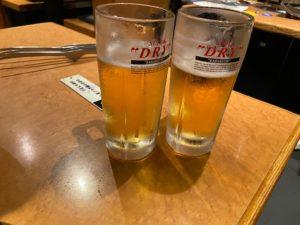 湘南台焼き肉ざんまいは、ビールも美味い!!